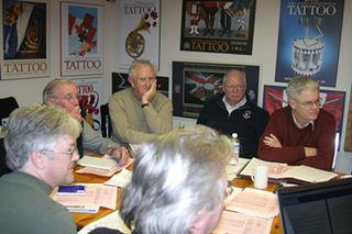 Halifax production meeting