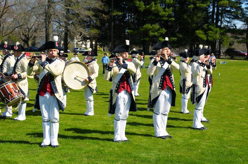 MCV at Lincoln Salute, April 20, 2009