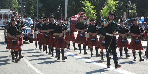 Stuart Highlanders Pipe Band - 2012