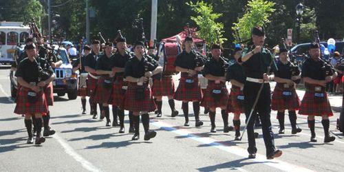 Stuart Highlanders Pipe Band - 2012