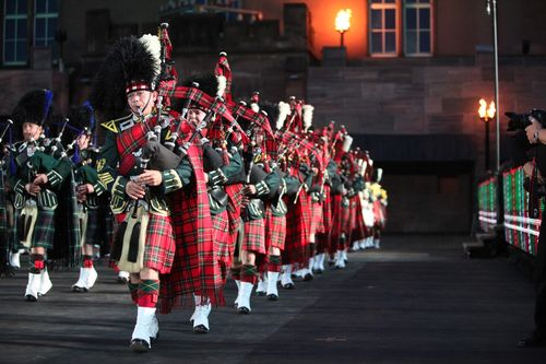 Stuart Highlanders in Basel Tattoo