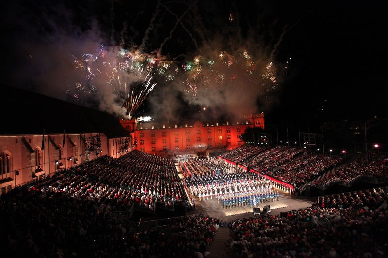 Basel Tattoo Finale - Full Cast